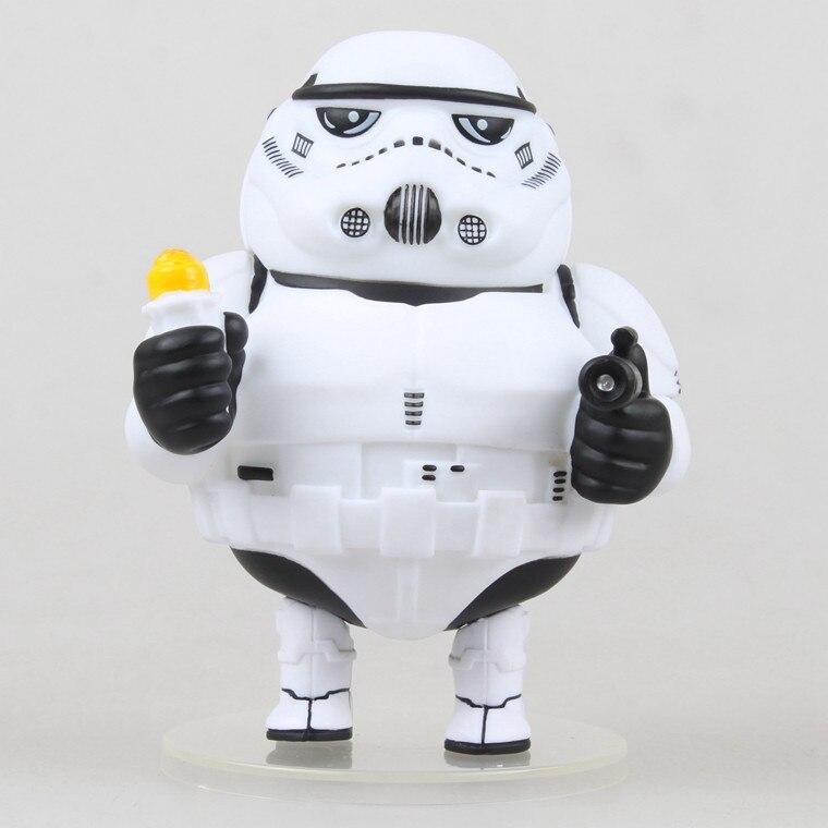 Chubbiness de Figurines 1/10 échelle peint Figure Chubbiness Storm Trooper PVC ACGN figure Lutte pour Rouleaux De Poulet
