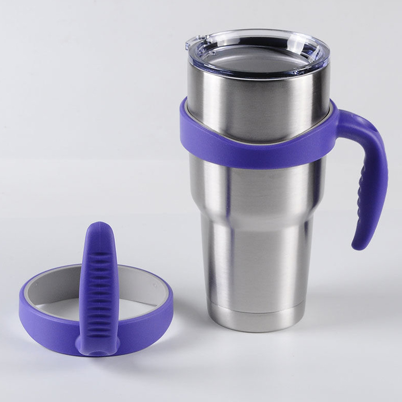Handle for <font><b>Yeti</b></font> <font><b>30</b></font> <font><b>Oz</b></font> <font><b>Rambler</b></font> <font><b>Tumbler</b></font> <font><b>Cup</b></font> Holder Fit <font><b>Travel</b></font> Mug Drinkware Six-color optional