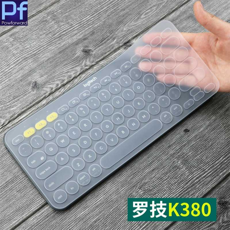 Ultra Thin Silicone Laptop Keyboard Cover Skin Protector for Logitech K380 Keyboard