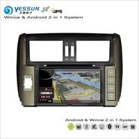 YESSUN For Toyota Prado J150 2010~2013 Car Android Radio CD DVD Player GPS Navi Map Navigation Audio Video Stereo S160 System