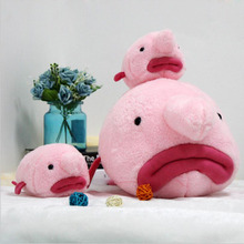 New Water Drop Fish Plush Toy Stuffed Pillow Ugly Doll Creative Gift Send to Children Baby