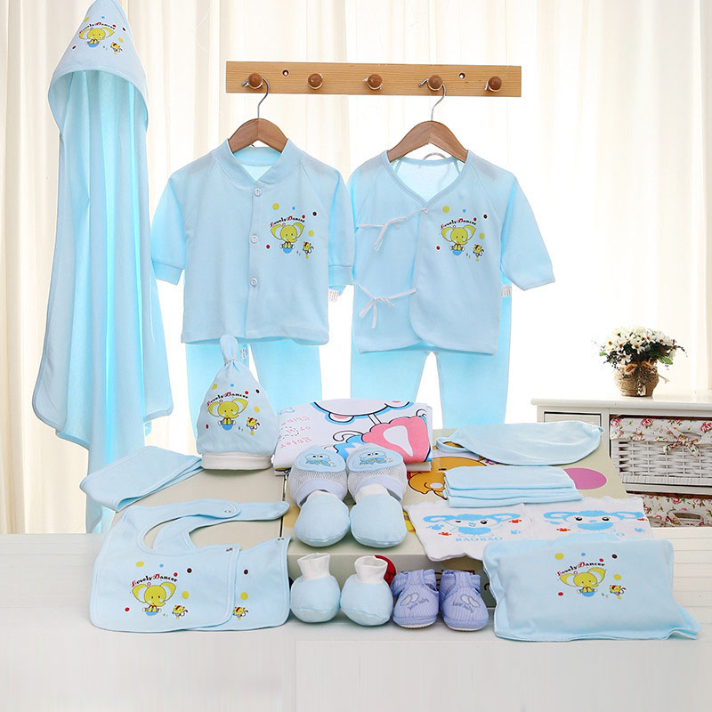 Emotion Moms Newborn Baby 0-3M Clothing Set Brand Baby Boy/Girl Clothes 100% Cotton Cartoon Underwear 26Pcs/Set emotion moms 29pcs set newborn baby girls clothes cotton 0 6months infants baby girl boys clothing set baby gift set without box