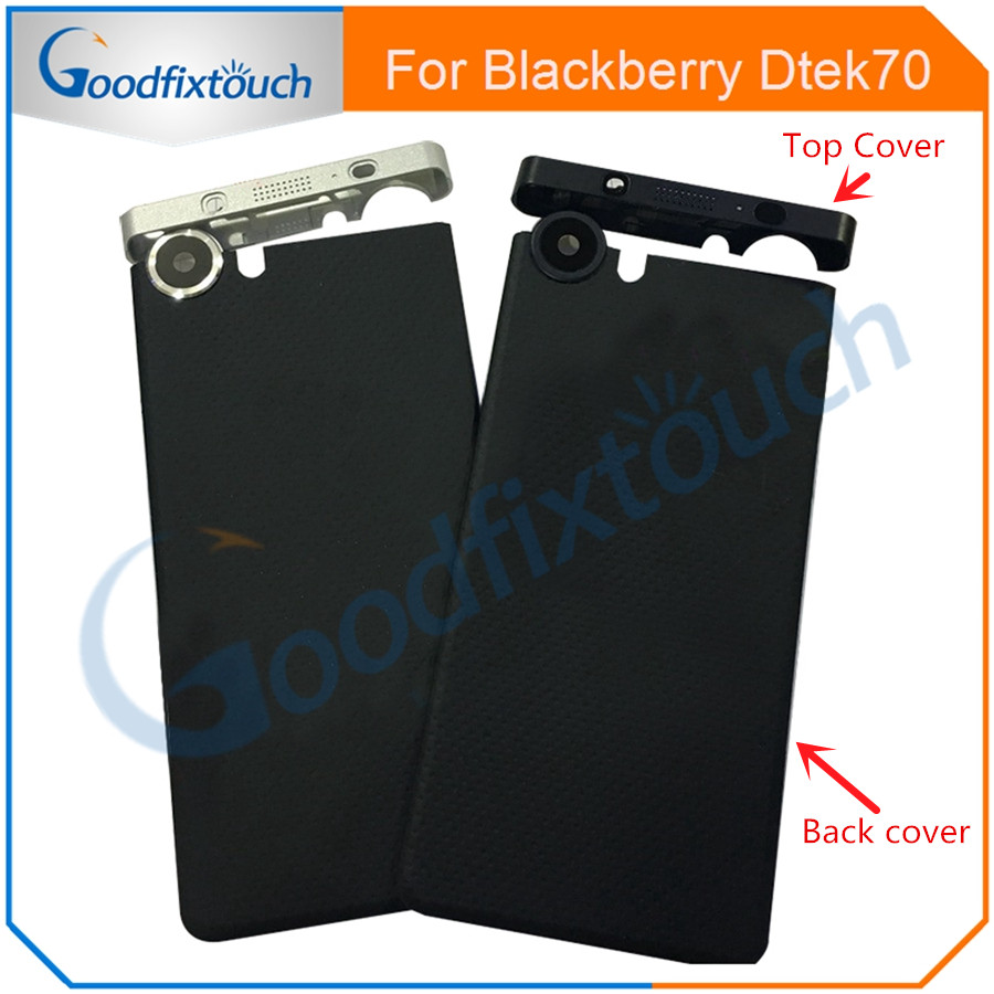For BlackBerry KEYone DTEK 70 DTEK70 Back Battery Cover Door Housing Case Back Cover Top UP Cover Replacement Parts With Tools