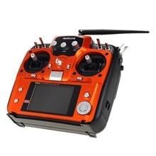 Calidad F07627 Radioenlace Sistema Transmisor DEL RC 2.4G 10CH Control Remoto AT10 con R10D Receptor para RC Avión Helicóptero