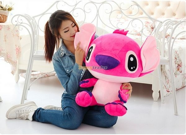 Fancytrader 47\'\' 120cm Biggest Huge Giant Stuffed Soft Plush Stitch, 2 Colors, Free Shipping FT50407 (6)
