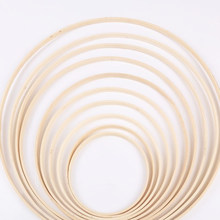 Embroidery Hoop Tool Bamboo Circle Round DIY Art Craft Cross Stitch Chinese Sewing Manual Tool 10/13.1/15/23.3/26.2/29cm(China)