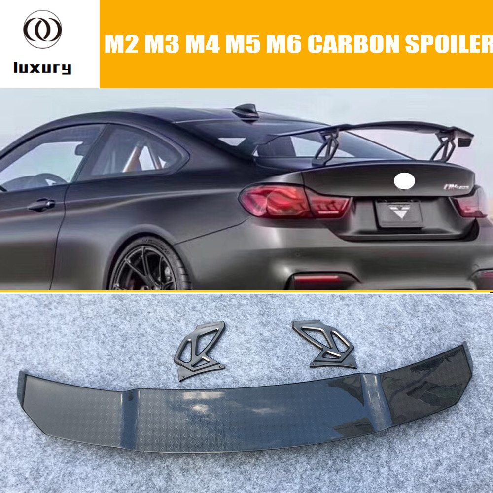 V Style Rear Carbon Fiber Rear Trunk Wing Spoiler for BMW F87 M2 E90 E92 F80 M3 F82 F83 M4 F10 G90 M5 F06 F12 F13 M6 pretty love golden masturbation cup vagina anal mouth sex cup adult sex toy for men sex product male masturbators flexible soft