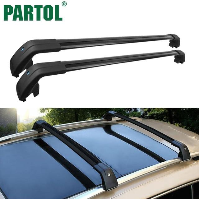 Partol Car Roof Rack Cross Bars Crossbars Luggage Carrier Rail Bike For Volvo