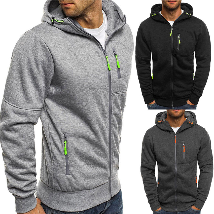 Oudor Swetshirts Sweatshirts Men Hoodie Hooded Sweatshirts Warm Sports Jacket Cotton Outwear
