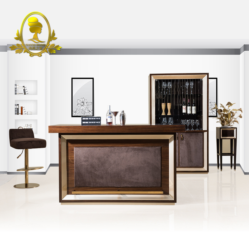 living room bar furniture modern bar table chair and wine cabinet ktv furniture home 12450