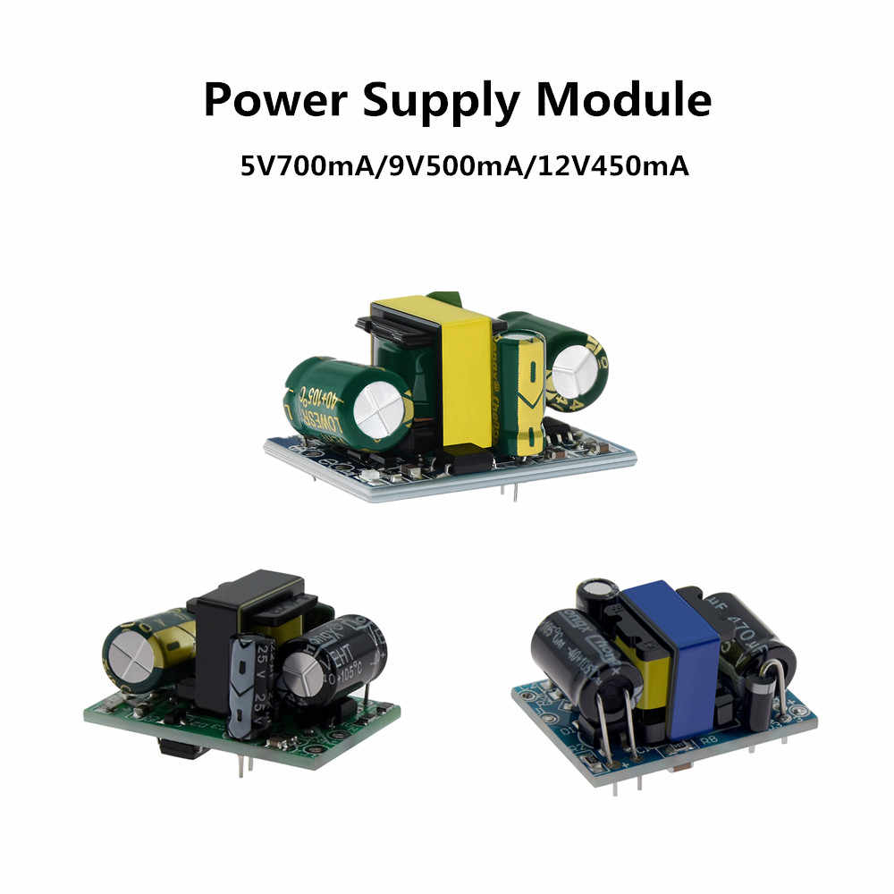 5V700mA (3.5 W) 9V500mA 12V450mA 5W Terisolasi Switch Power Supply Modul AC-DC Buck Step-Down Modul