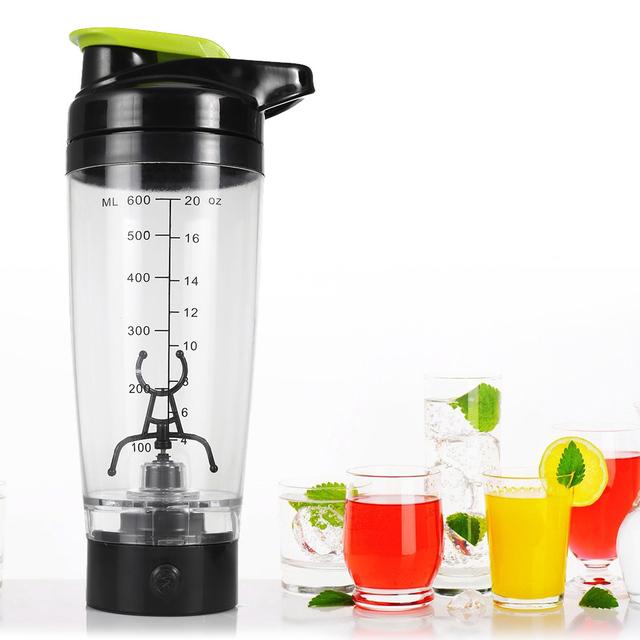 Battery Powered 600ml Automatic Mixer | Self Stirring Mug Portable Protein Shaker