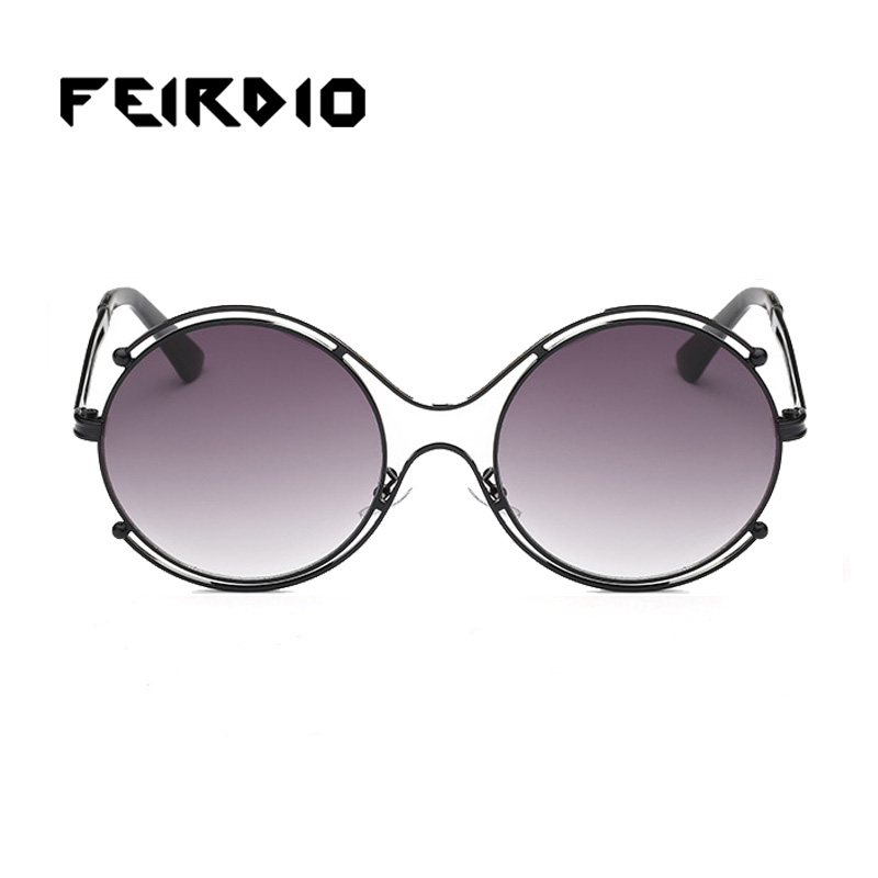 Feirdio серебряные мужские женские солнцезащитные очки очки orange старинные ciclismo gafas de sol плоская линза зеркало анти-уф работает