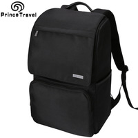 Black Oxford 15inch Laptop Backpack Men S Business Computer Bag College Student Large Capacity Multifunctional Travelling