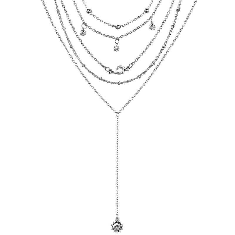 boho Hawaiian Sea Shell Necklace Choker Jewelry Bohemian Beach Tassel Necklace Shell Gold Chain For Women Collar Chocker 2019
