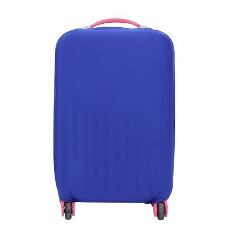 Elastic Fabric Luggage Protective Cover For 18 to 30 inch Trolley Case Suitcase Dust Cover Travel Accessories Candy Colors цена