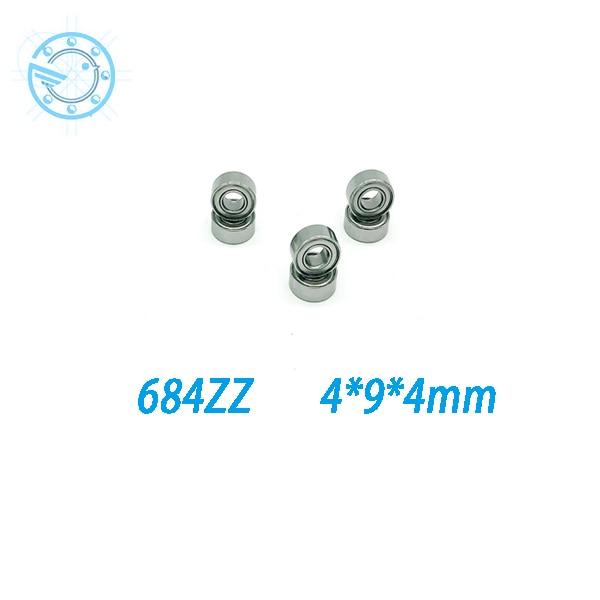 High quality, high speed,  684ZZ nylon cage deep groove ball bearings, bearing 684zz  ---Free shipping сетевой адаптер powerline tp link tl pa4010kit