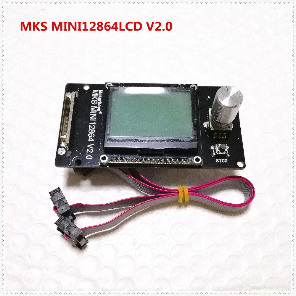 Makerbase MKS MINI12864LCD V2.0 RepRap 12864 GLCD Liquid Crystal Screen Mini Lcd12864 Display Controller 3d Printer LCD Supplies