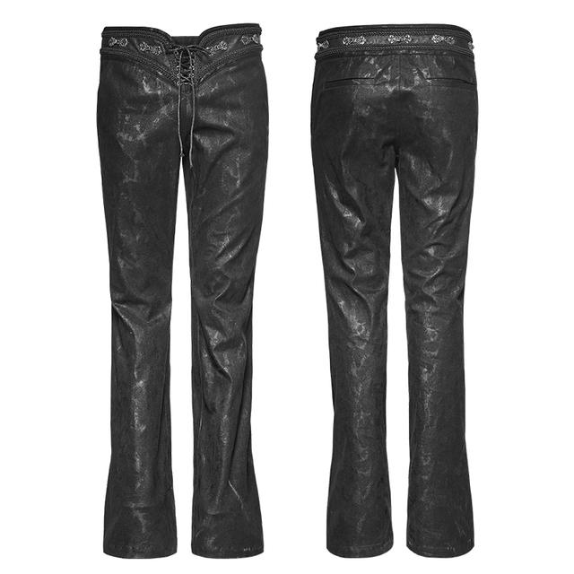 Punk Rave Black Men's Gothic Punk Rock Pants Gothic Man Bell-Bottoms trousers K268