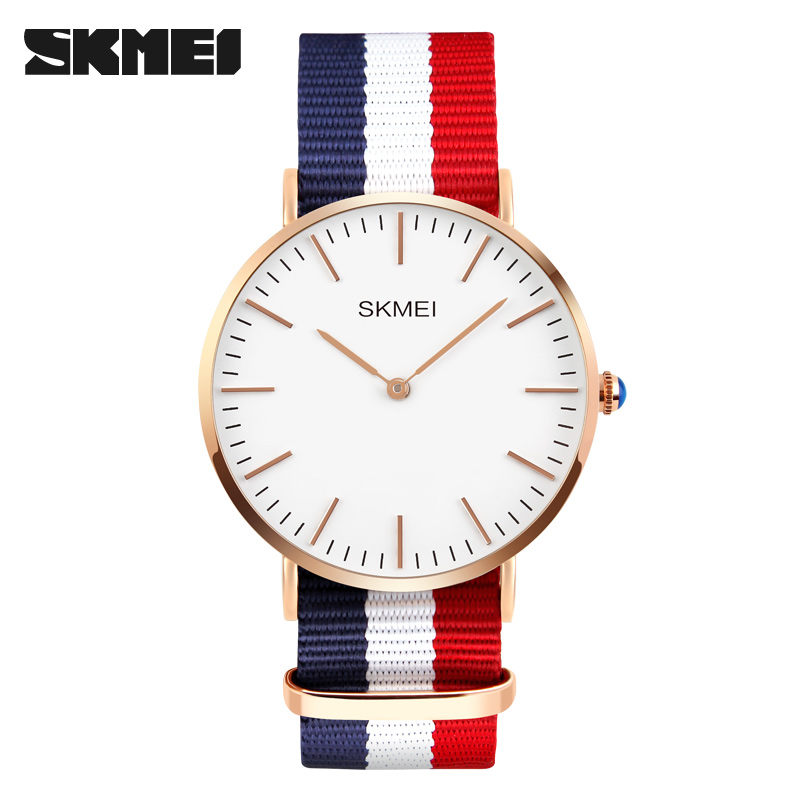 SKMEI Brand Men Luxury Quartz Watches Fashion Casual Ultrathin Wristwatches Relogio Masculino New 2017 Hours