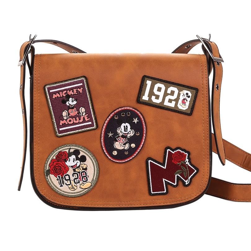 Disney Mickey Mouse mode sacs à main pour femmes sacs à main de luxe Designer marques célèbres fourre-tout sac à main sacs à main pour les jeunes filles A269