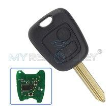 Remote key 2 Button 433 mhz ID46 electronic chip for Citroen Xsara Picasso Berlingo 2002 2003 2004 2005 2006 2007 2008 remtekey
