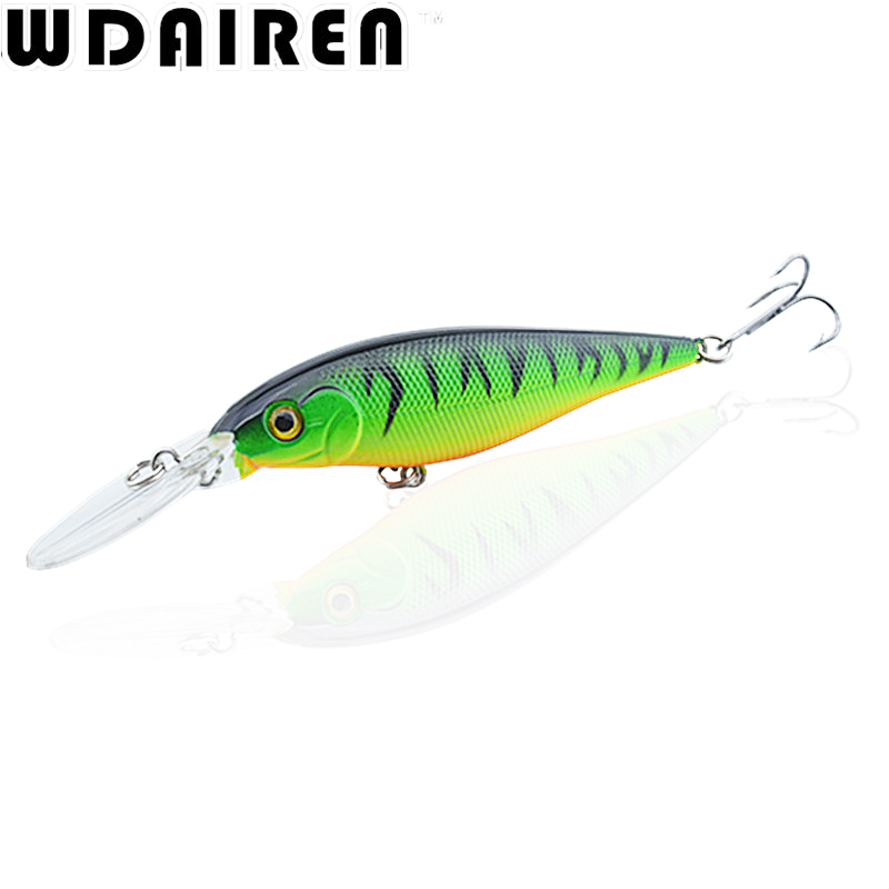 1Pcs 11cm 10.5g Crank bait Wobbler Minnow Fishing Lure Trolling Artificial Bait Pike Carp lures Crankbait Peche Bass 6 # hooks 1pc wobbler fishing lures sea trolling minnow artificial bait carp 9cm 9 1g peche crankbait pesca fishing tackle zb207