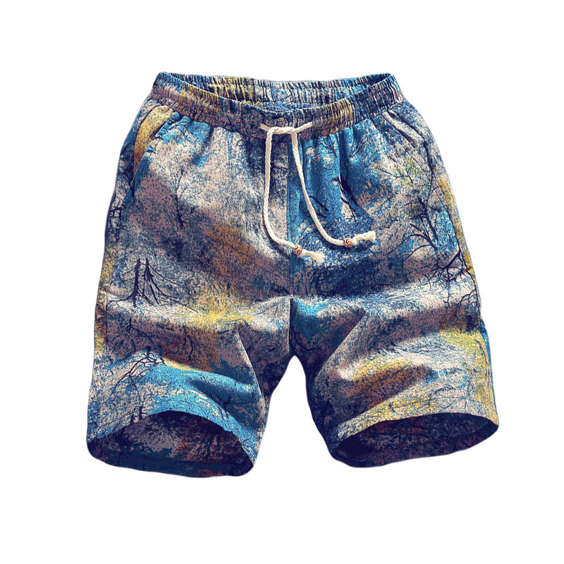 2019 Beach Shorts Men Summer Quick Dry Comfortable Beachwear Homme Casual Hawaii