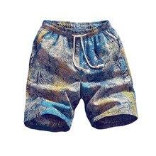 3f82b5df62 2019 New Hot Beach Shorts Men Summer Quick Dry Comfortable Beachwear Homme  Casual Hawaii Board leisure