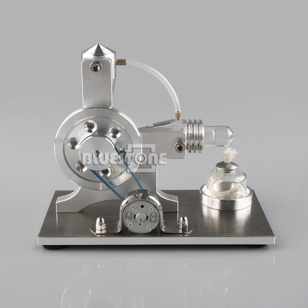 New Hot Air Stirling Engine Model Motor Power Generator Engine Alpha Engine Toy