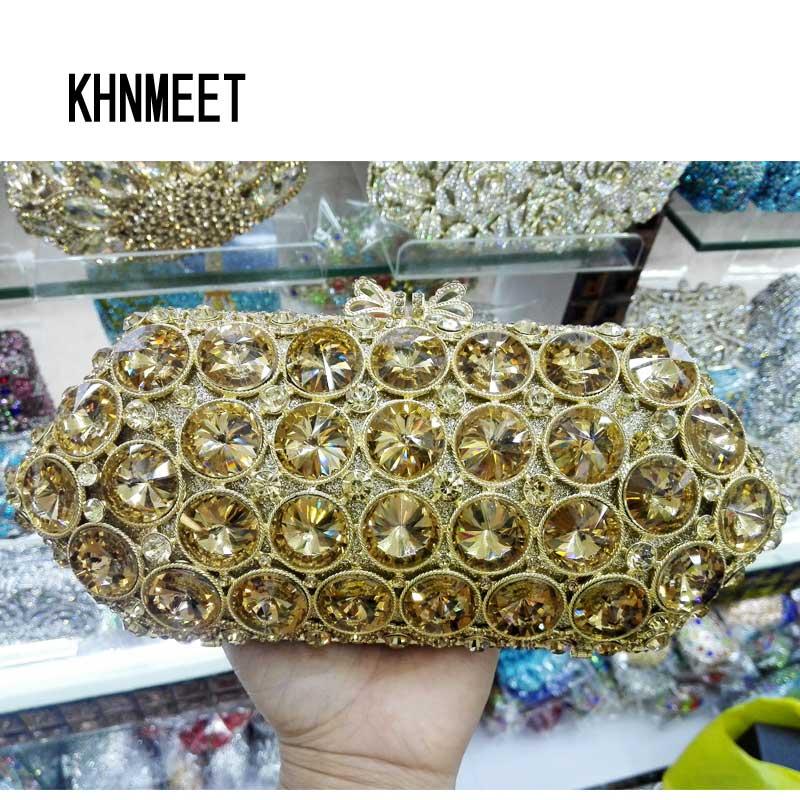 New Lady Crystal Handbag Luxury Evening Party Bag Clutch purse New Style Jewel Case Mini Bag Luxury Evening Bag SC314