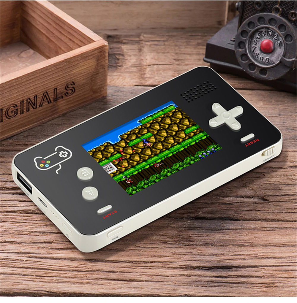 5000mA Portable Mobile Power Retro Handheld Game Console Built-in s 188 8-bit Retro Games for iPhone (2018 NEWS) 3