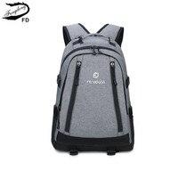 FengDong grey school backpack men school bag high school backpacks for boys male notebook bag 13 14 15 boy schoolbag bookbag