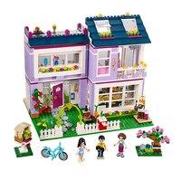 Girls Emma S House 731Pcs Mini Bricks Set Sale Building Blocks Friends Series Toys For Children