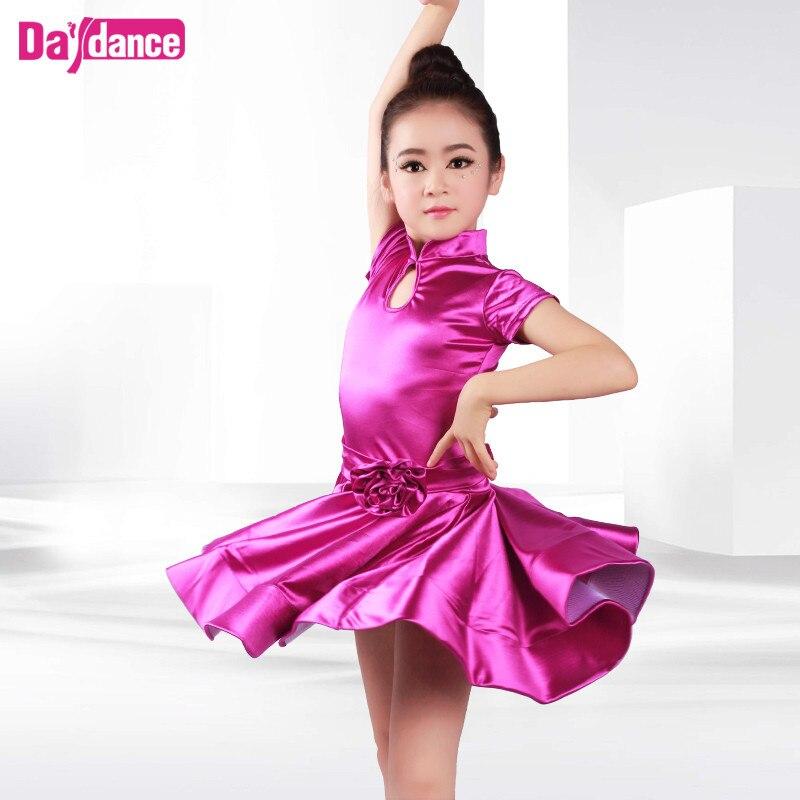 Collar Girls Dance Latino vestido brillante moderno salón de baile ...