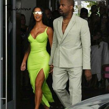 bd95f29956d06c0 Tobinoone Ким Кардашьян летнее платье для женщин сексуальная ...