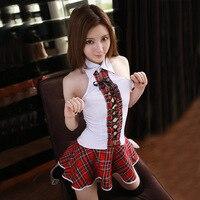 JiaHuiGe Sexy Japonês School Girl Costume Mulheres Traje Colegial Uniforme Lingerie Sexy Quente Erótico Fantasia Role-playing Homme