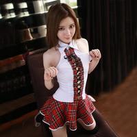Jiahuigeセクシーな日本女子高生コスプレ女性女子高生衣装制服ランジェリーセクシーな熱いエロチックなファンタジアオムロールプレイング