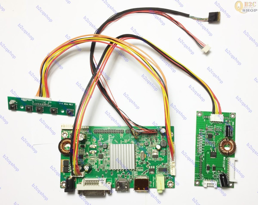 HDMI DVI DP LCD Controller Board Monitor Kit inverter kit for 2560X1440 LM270WQ1 SD E3 LM270WQ1