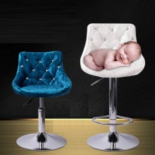 household chair milk tea house lving room stool grey white blue color new chair design retail