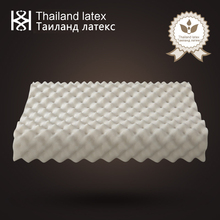Thailand Natural Latex Bed Cervical Orthopedic Pillow 62x37x11x9cm Sleeping Bedding Contour Message Memory Foam Pillows for Men