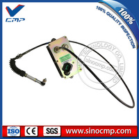 3116 3126 Engine Throttle Motor 106-0126 Single Cable with 5 pins for E325B E322B Excavator, 6 month warranty