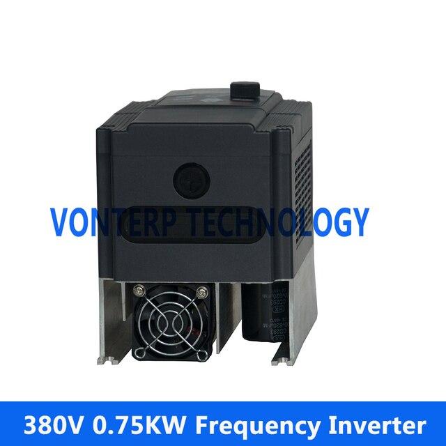 380 V 0.75KW 3 Phase Frequenzumrichter VFD Wechselrichter/VSD ac ...