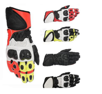 High end fashion A motorcycle sports gloves GP PLUS R leather gloves Knight