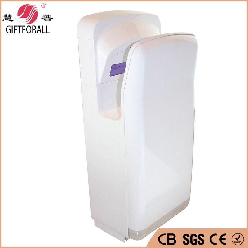 GIFTFORALL מכירה לוהטת אוטומטית Infared חיישן יד מייבש אמבטיה מלון יד ייבוש מכשיר אסלה מהירות ידיים מייבש HP-2011 BB