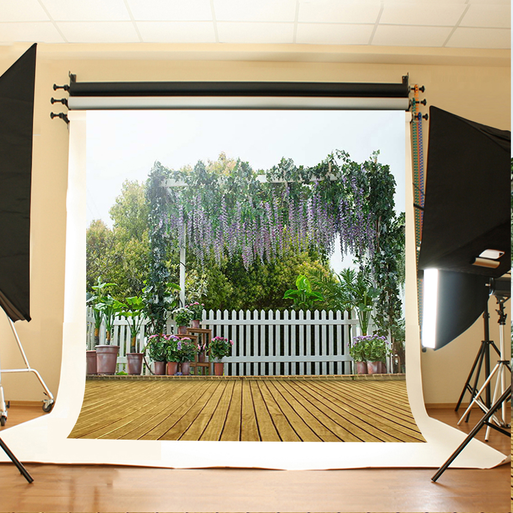 Wedding Photography Background Tree Fence Fence Photocall for Wedding Striped Wood Floor Backdrops for Photographic Studio allenjoy photography backdrops floor mosaic school blackboard kids vinyl photocall photographic studio computer printing lovely
