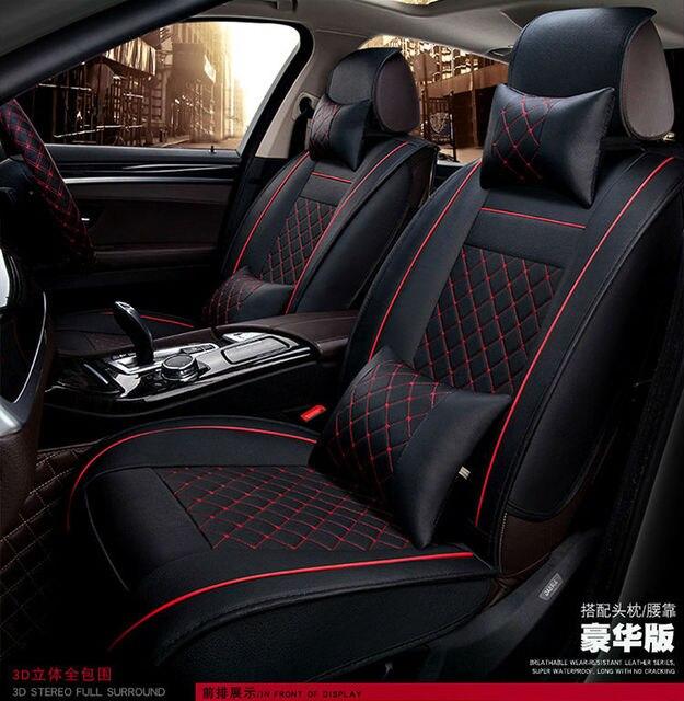 car seat cushion auto seats covers pu for Ferrari GMC Savana JAGUAR