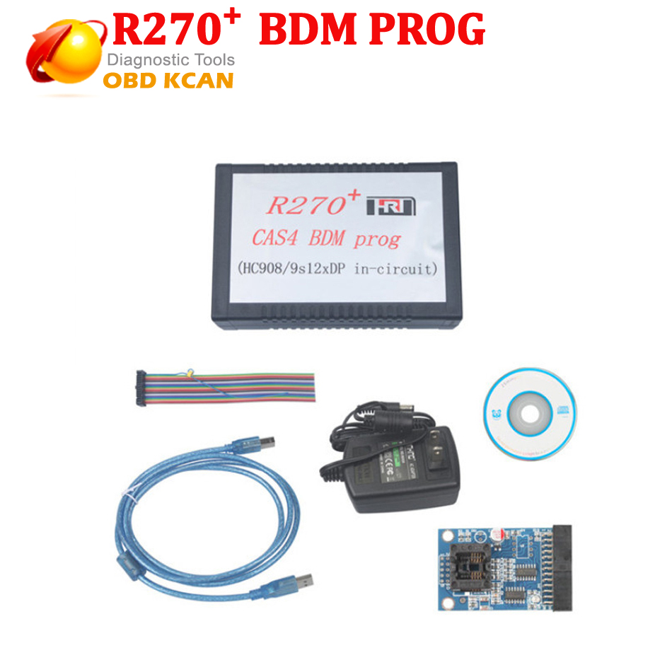 Professional key programmer R270+ CAS4 BDM Programmer For BM W  Auto Key Programmer R270 with good quality with Free Shipping