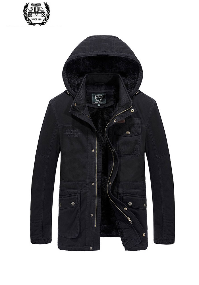 Mens Parka Jackets Desieners Fleece Hooded Jacket Men Down Parka Winter Coat High Quality Dropshipping Winter M~6XL Wide Waist