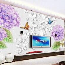 beibehang papel de parede 3d wallpaper Premium Dream Fashion Waterproof Wallpape